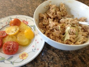 Hot Summer Night Tuna Salad