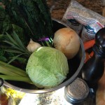 Ingredients for ribollita