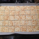 Lay out crackers